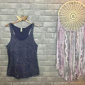alternative apparel // cornflower blue tank top m